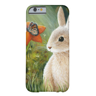Hare 55 rabbit butterfly barely there iPhone 6 case