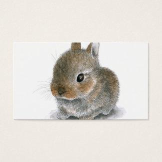 Hare 61 bunny rabbit business card