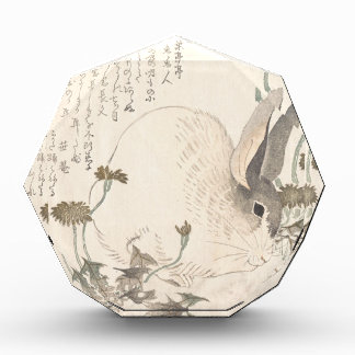 Hare and Dandelion, Kubo Shunman, Japanese Art Award