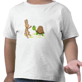 Hare and Tortoise Tee Shirts