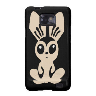 Hare_by_Rones_Vector_Clipart cartoon bunny rabbit Galaxy SII Case