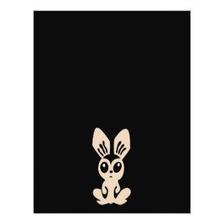 Hare_by_Rones_Vector_Clipart cartoon bunny rabbit Flyer