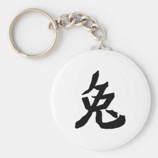 Hare character keychain
