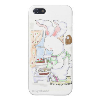 hare cook frying eggs iPhone5 case Covers For iPhone 5