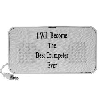 Haré el mejor trompetista nunca laptop altavoz
