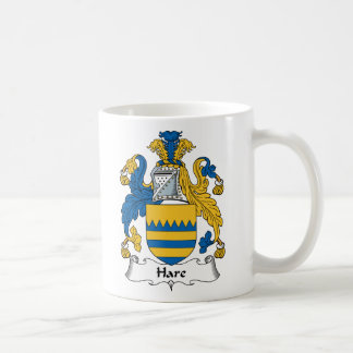 Hare Family Crest Coffee Mug