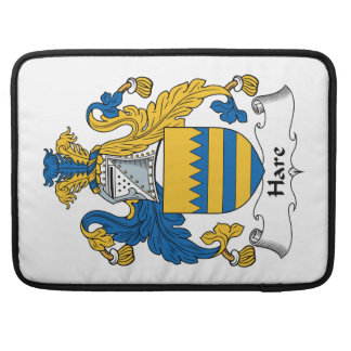 Hare Family Crest MacBook Pro Sleeve