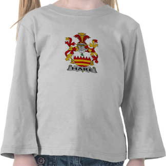 Hare Family Crest Tshirts