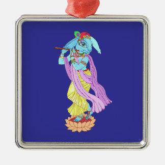 Hare Krishna Metal Ornament
