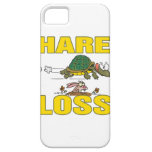 hare loss funny hair loss fable pun cartoon iPhone 5 cases