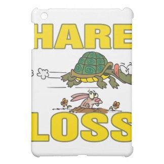 hare loss funny hair loss fable pun cartoon iPad mini covers