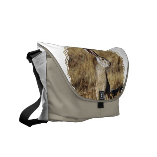 Hare  Messenger Bag