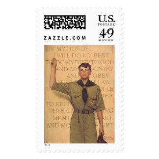Haré mi mejor sello postal