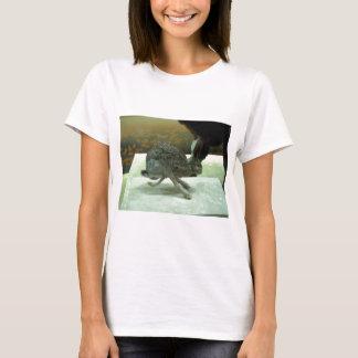Hare (non-Krishna) running. Taxidermy specimen. T-Shirt