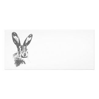 Hare Rack Card