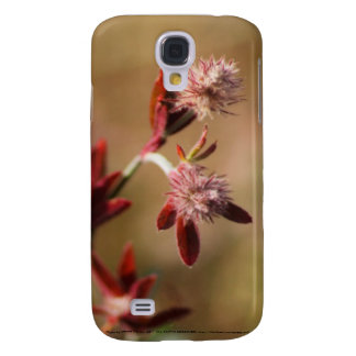 hare s foot trefoil red leaves 2 samsung galaxy s4 cover