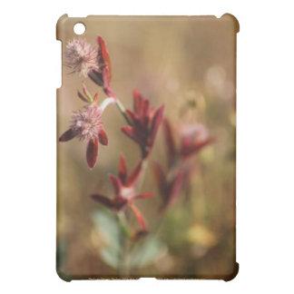 hare s foot trefoil red leaves 2 iPad mini case