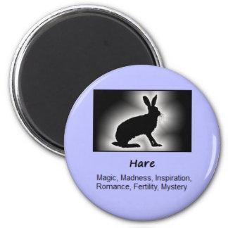 Hare Totem Animal Spirit Meaning Magnet