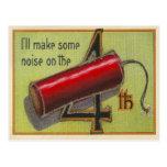 Haré un cierto ruido tarjeta postal