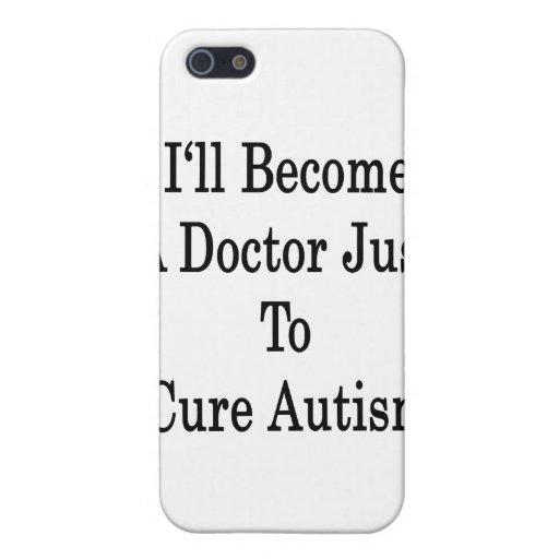 Haré un doctor Just To Cure Autism iPhone 5 Carcasas