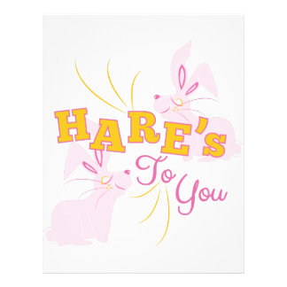 Hares To You Letterhead