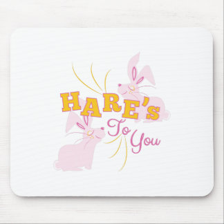 Hares To You Mouse Pad
