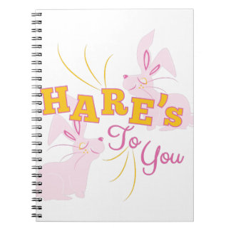 Hares To You Notebook
