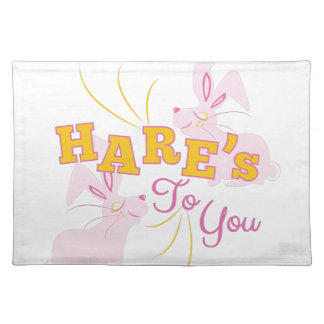 Hares To You Placemat