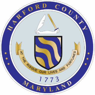 Harford County seal Photo Cut Out