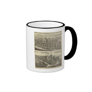 Hargis, Cheney residences Coffee Mug