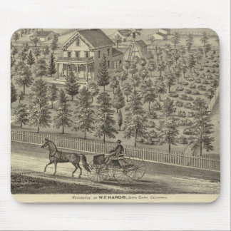 Hargis, Cheney residences Mouse Pads