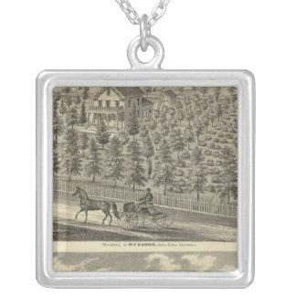 Hargis, Cheney residences Personalized Necklace