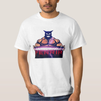 Hargis Muscle Fenrir Lightning Strike T-Shirt
