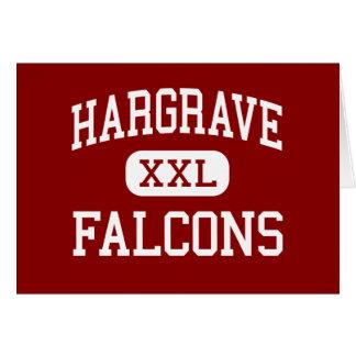 Hargrave - Falcons - High School - Huffman Texas Greeting Card