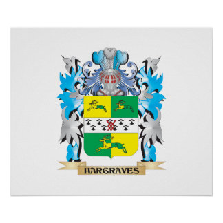 Hargraves Coat of Arms - Family Crest Posters