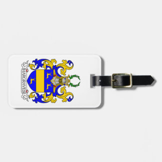 Hargraves Coat of Arms Bag Tag