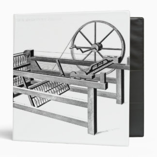 Hargreaves's Spinning Jenny, engraved by Vinyl Binder