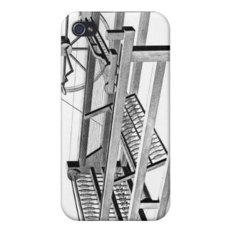Hargreaves's Spinning Jenny, engraved by iPhone 4 Cases