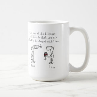 Hari and Roxy Coffee Mug