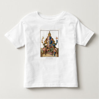 Hari-Hara, from 'Voyage aux Indes et a la Chine' b Tshirt