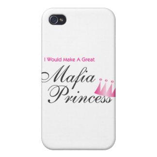 Haría a una gran princesa de la mafia iPhone 4 carcasas