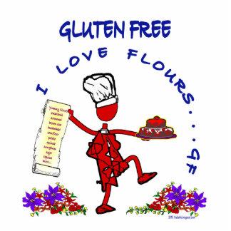 Harinas libres del amor del gluten I Fotoescultura Vertical