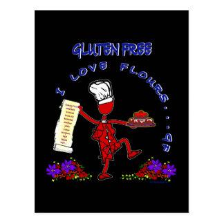 Harinas libres del amor del gluten I Postal