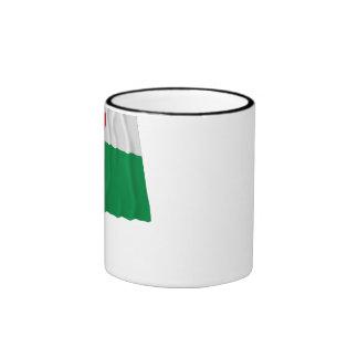 Harju Waving Flag Ringer Mug