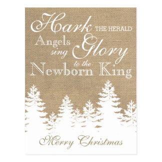 Hark the Herald Angels | Christian Christmas Card
