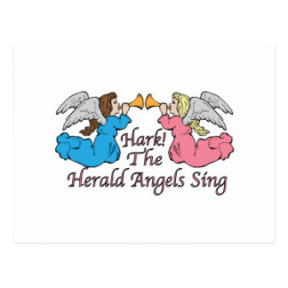 Hark! The Herald Angels Sing Postcard