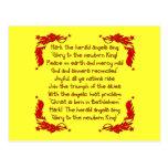 Hark the herald Angels sing... Postcard