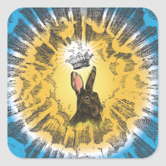 Hark the Herald Angels Sing Square Sticker