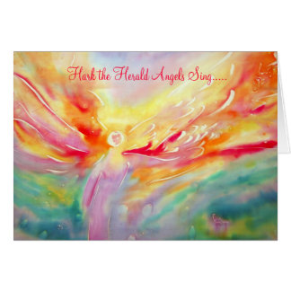 Hark the Herald Angels Sing Stationery Note Card