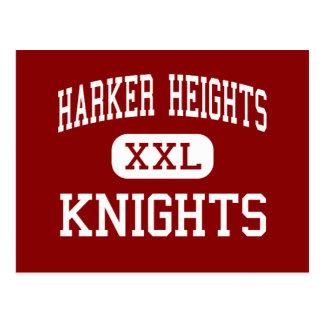 Harker Heights - Knights - High - Harker Heights Postcard